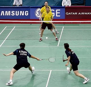 Badminton Tactics: Doubles Defensive Formation